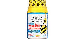 Zarbee's Naturals <b>Children's Complete Multivitamin</b> + Probiotic ...