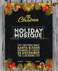 75 Christmas Poster Templates Free Psd Eps Png Ai Vector