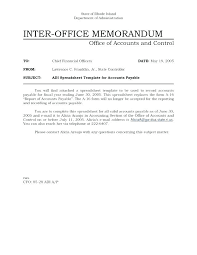 Example Of Office Memorandum Letter Office Memo Example And Interoffice Samples With Sample