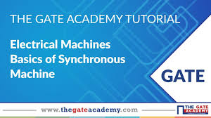 basics of synchronous machine electrical machines ee