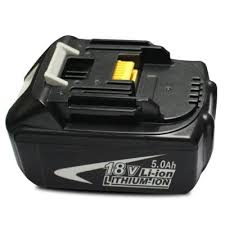 makita battery. makita bl1850 18v 5.0ah rechargeable lithium-ion battery