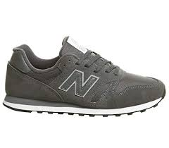 New Balance <b>373</b> Stone Grey <b>Suede</b> Trainer- Buy Online in ...