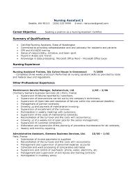 Nursing Medical Resume Examples Registered Nursing Resume