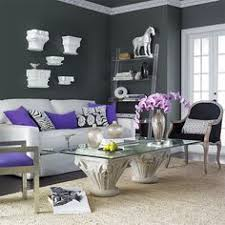 Peaceful Design Purple And Gray Living Room Unique Purple And Gray Living  Room Ideas