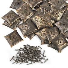 decorative nails for furniture. Image Is Loading 100pcs-Bronze-Vintage-Square-Upholstery-Nails-Studs- Furniture- Decorative Nails For Furniture
