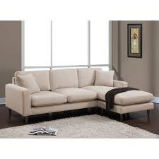 Shaffer Buff Fabric Two-piece Sectional Sofa - Overstock Shopping - Big  Discounts on Sectional Sofas