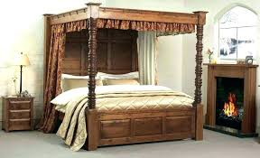 Canopy Bed Posts Furniture Queen Canopy Bed Canopy And Posts ...