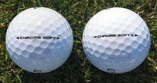 Callaway Chrome Soft X 2018 Golf Ball Review Golfalot