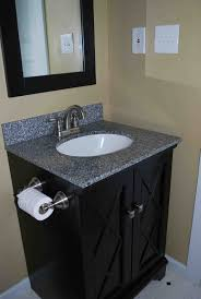 allen roth bathroom vanity vanity black high glossy finished sink