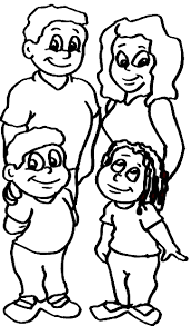 Small Picture Exclusive Idea Coloring Pages Of Families Printable Family
