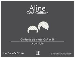 Aline Côté Coiffure à Wattrelos Coiffeuse à Domicile