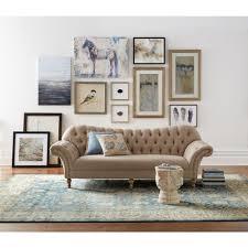 home decorators collection arden dark beige linen sofa 1599000840