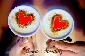 Good Morning Wishes With Heart Coffee ...