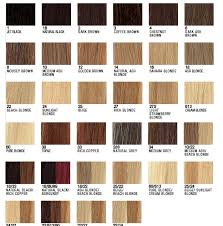 Hair Extension Color Chart Pretty Luscious Things Hair Extensions