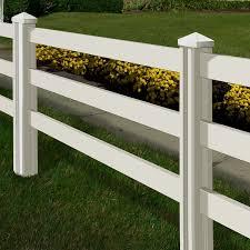 Wam Bam Traditional 4 x 7 Ranch Rail Fence Reviews Wayfair