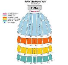 Radio City Music Hall Seating Chart Ktchenor Photo