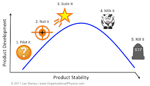 Organizational Life Cycle Chart Lifecycle Strategy Product Market Execution Fit