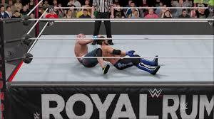 Wwe Royal Rumble 2017 Simulation Wwe Championship Aj