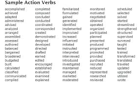 resume word list resume action word list thewhyfactor co