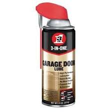 squeaky garage door3INONE WD40 100581 Professional Garage Door Lubricant 11 Oz