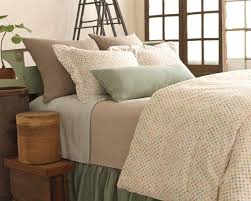 new from pine cone hill watercolor dots duvet cover and shams chambray linen ocean