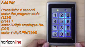 ra 7612 access control unit youtube Glass Door Access Control at 6 Door Access Control Wiring Diagram