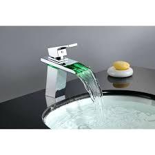 waterfall faucet waterfall single hole bathroom faucet waterfall bathtub faucet bronze