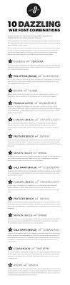 Great Web Font Combinations My Fave Is The Number Combo Resume
