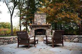 outdoor fall decorating patio traditional with seasonal decor round fire pit tables