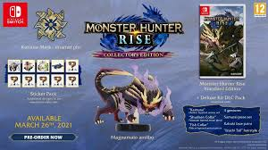 New players can use the wirebug to get themselves to safety and recover quicker, while veterans can style. Monster Hunter Rise Edition Collector Nintendo Switch Amazon Fr Jeux Video