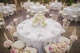 wedding reception round tables set up how to