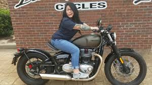used 2017 triumph bonneville bobber for sale youtube