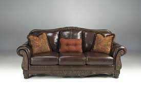 North Shore Living Room Set North Shore Living Room Set In Brown Leather Signature Design By
