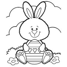 easter bunny colouring pages to print. Perfect Bunny Easter Bunny Coloring Image To Print Intended Colouring Pages To S