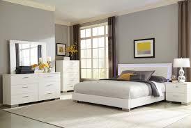Led Bedroom Furniture Coaster 203500q Felicity Led Lighting 4 Pcs Queen Bedroom Set