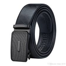 mens leather belts automatic buckle black luxury business beltmetal removable 2018 new arrival dk 0015 western belts mens leather belts from doris 0115