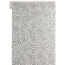 Top Wit Behang Met Zwarte Stippen Psv45 Agneswamu