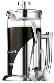 french press coffee maker stainless steel borosilicate glass 34 oz contemporary french presses by y h g inc
