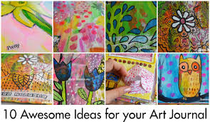 art cover page ideas 10 ideas for your art journal ihannas blog