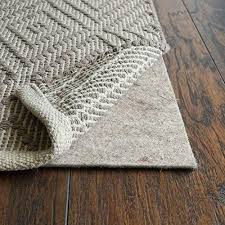 details about rugpadusa ub17 23 ultra black 17 1 8 thick felt rubber non slip rug pad