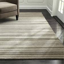 lynx grey textured wool rug crate and barrel in striped area rugs wool dhurrie rugs lynx