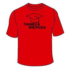 Wikipedia T Shirt Thanks Wikipedia T Shirt Tshirtlegend