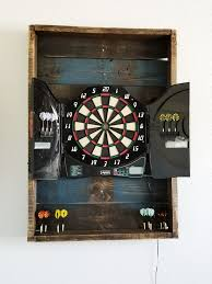 what to put behind a dart board to
