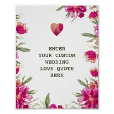 Love Quotes Flowers Card