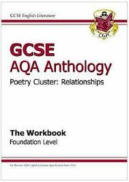 gcse anthology aqa poetry workbook