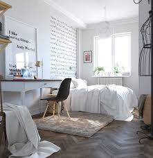 Mesmerizing Scandinavian Bedroom Curtains Photo Design Inspiration ...