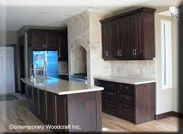 afraid of dark stained cabinets kitchen design notes light wood floors