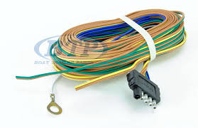 boat trailer light wiring harness 5 flat 35ft to re wire trailer lights and disc brakes