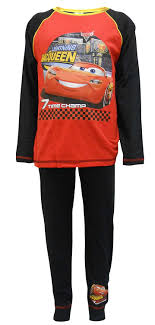 Lighting Mcqueen Pajamas Disney Cars 3 Lightning Mcqueen Boys Pyjamas