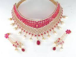 indian bridal jewelry set